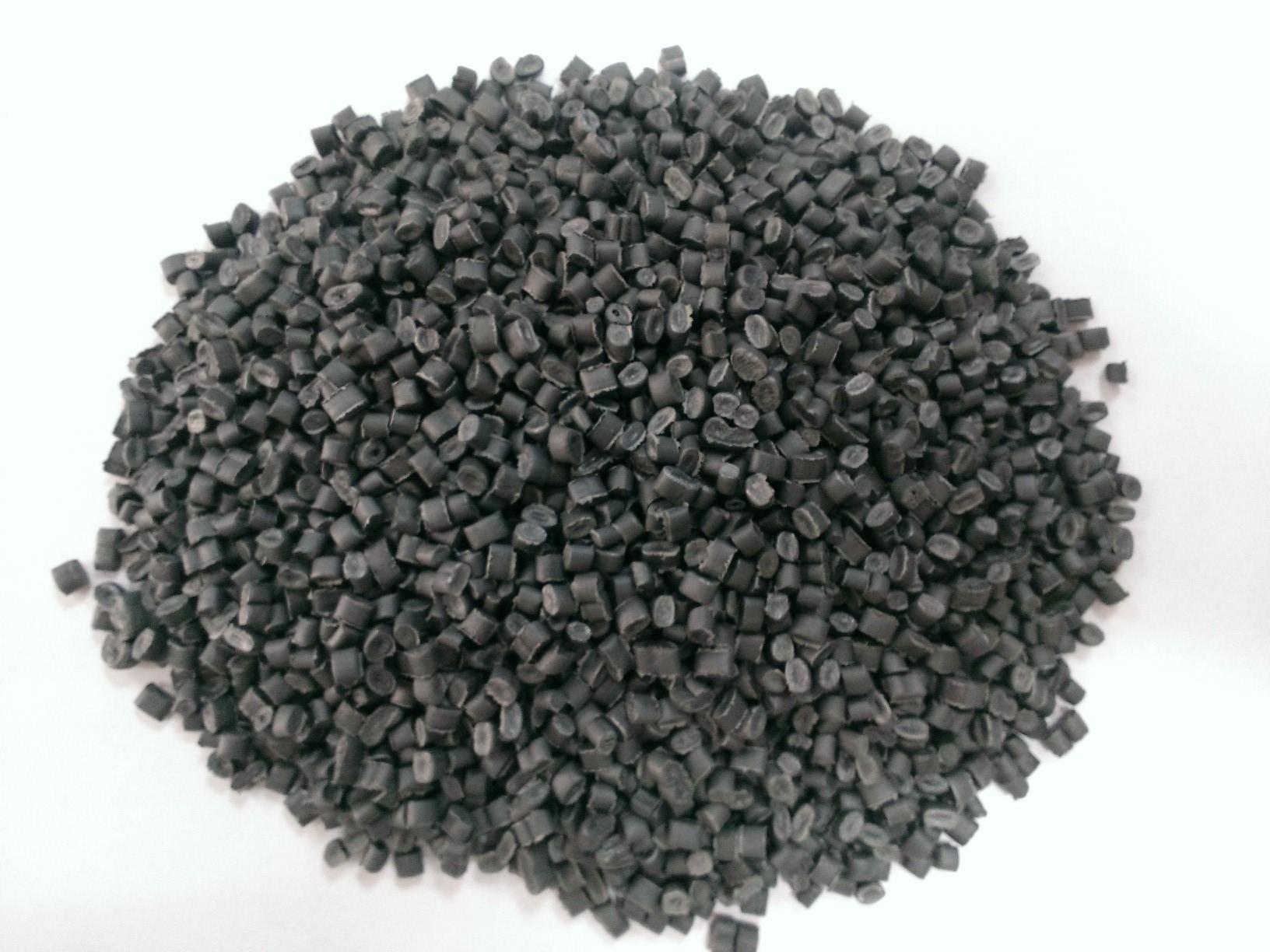 Hạt Nhựa Tái Sinh LDPE Màu Xám